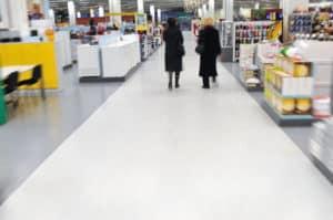 retail floor