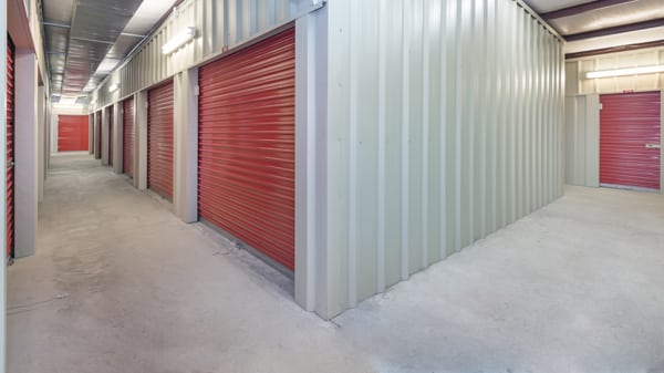 storage facility floor