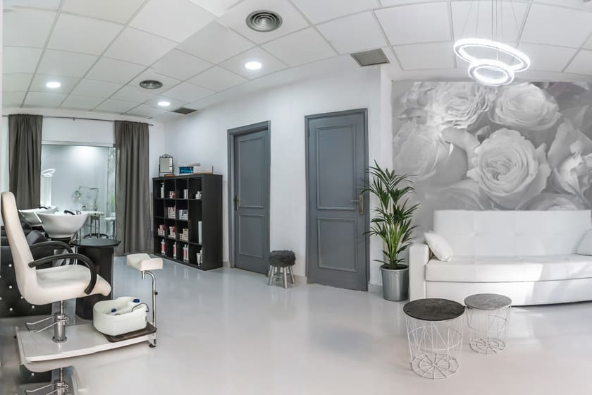 beauty salon flooring
