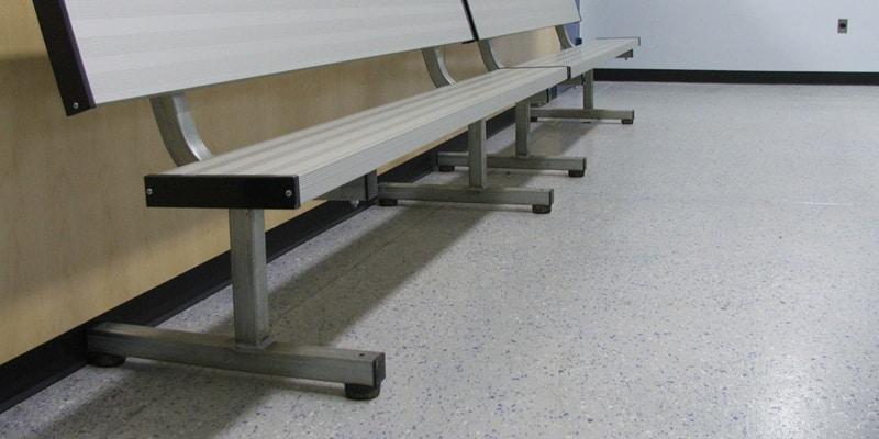 locker room floor coatings