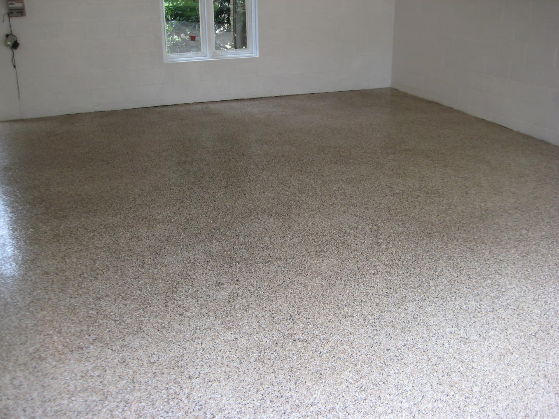 residential garage flooring