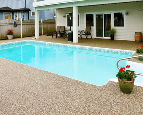 outdoor pool coating